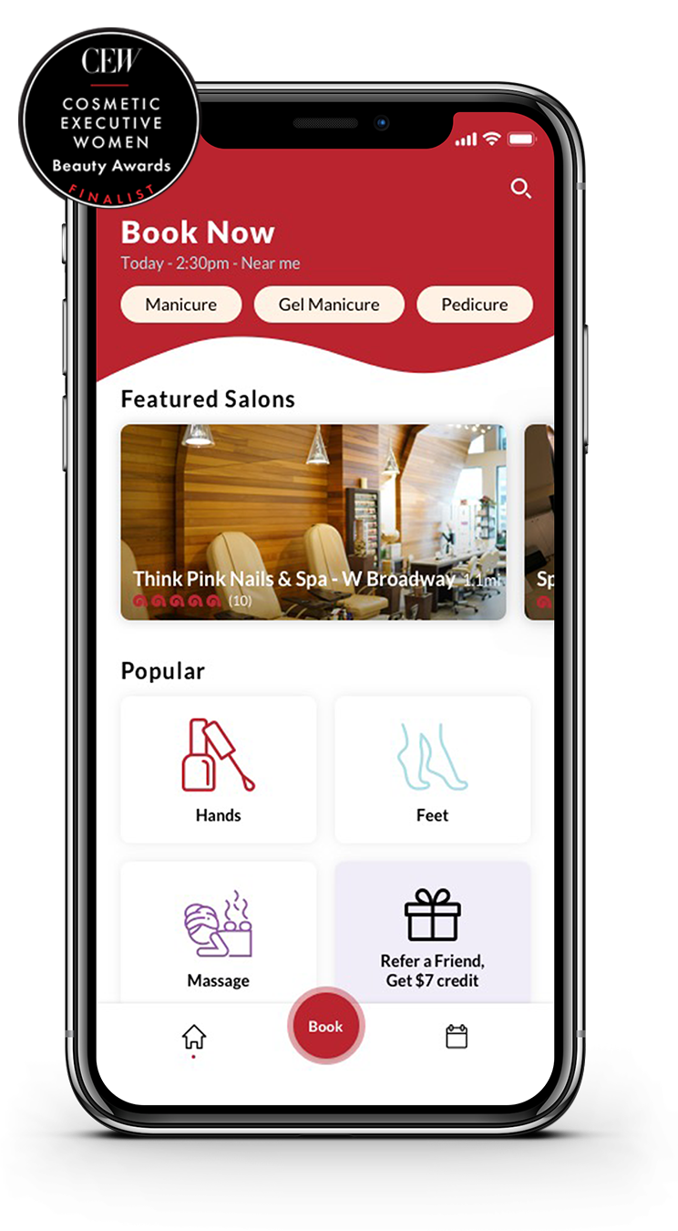 Discover New York's First Online Nail Salon Booking Platform
